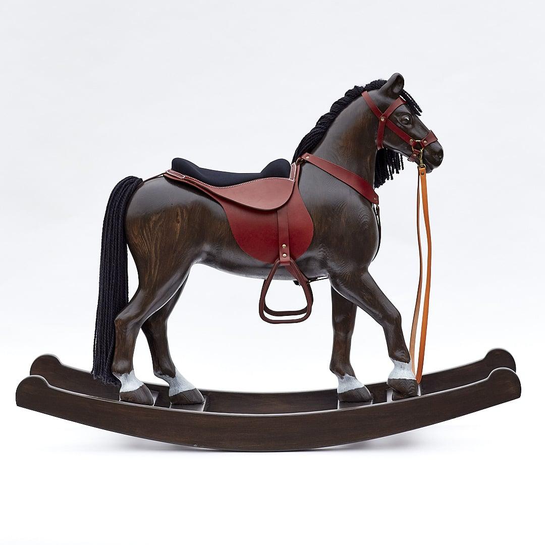 Houpací kůň Čenda 53 připravený k prodeji, barevné provedení vraník