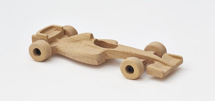 Voiture de bois formule F1